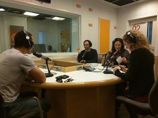 Entrevista en Tiempo de Alisios, de la Radio Autonómica Canaria